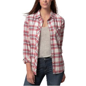Basin and Range Red Butte Boyfriend Long-Sleeve Shirt - Women's