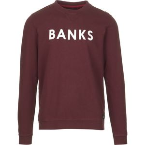 BANKS Classic Fleece Crew Sweatshirt - Men's