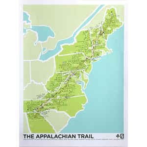 Brainstorm The Appalachian Trail Screenprint