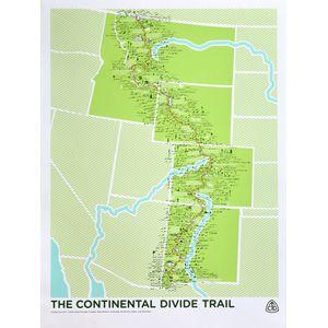 Brainstorm The Continental Divide Trail Screenprint