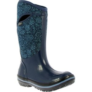 Bogs Plimsoll Quilted Floral Tall Boot - Women's