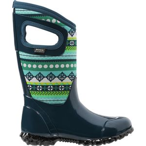Bogs North Hampton Pattern Stripes Boot - Little Girls'
