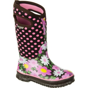 Bogs Flower Dot Boot - Little Girls'