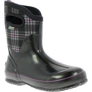 Bogs Classic Winter Plaid Mid Boot - Women's