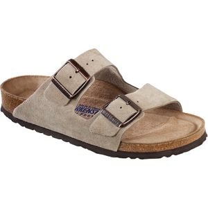 Birkenstock Arizona Soft Footbed Suede Narrow Sandal - Women's