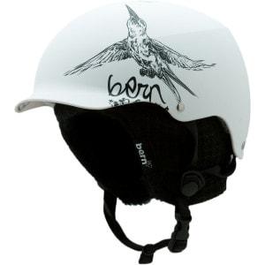 Bern Muse Hard Hat Helmet w Knit Liner Womens