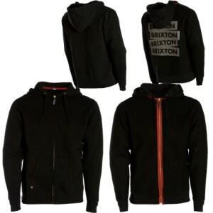 Brixton Malice Full-Zip Hooded Sweatshirt - Mens