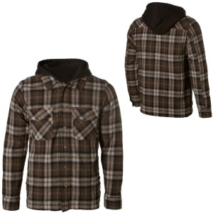 Brixton Strike Hooded Flannel Jacket - Mens