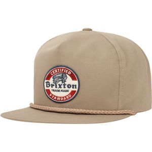 Brixton Soto High Profile Snapback Hat