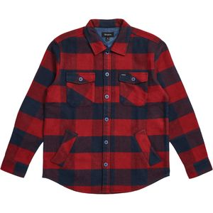 BrixtonDurham Long-Sleeve Flannel Shirt - Men's