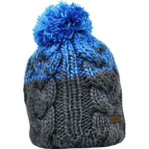 Bigtruck Brand Cable Knit Pom Beanie
