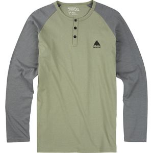Burton Lifty Henley Slim Fit T-Shirt - Long-Sleeve - Men's