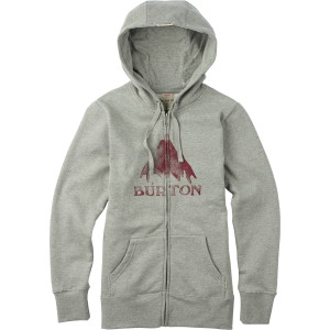 Burton Stamped Mountain Full-Zip Hoodie - Women's