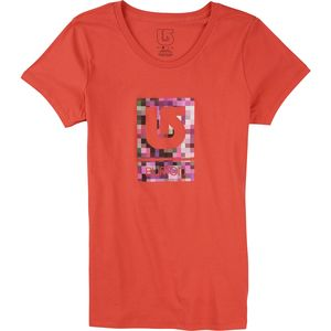 Burton Logo Vertical Fill T-Shirt - Short-Sleeve - Women's