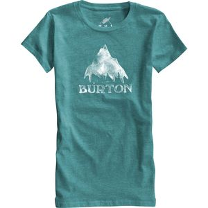 Burton Stamped Mountain Recycled T-Shirt - Short-Sleeve - Women's