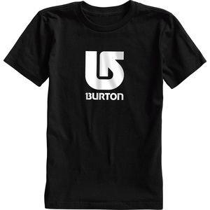 Burton Logo Vertical T-Shirt - Short-Sleeve - Boys'