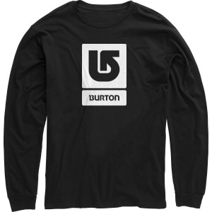 Burton Logo Vertical Fill T-Shirt - Long-Sleeve - Boys'