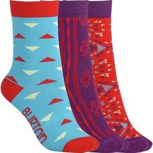 Burton Multi Pop Apres 3 Pack Socks - Women's