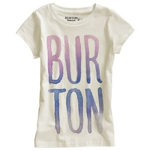 Burton Large Type Shirt - Short-Sleeve - Girls'