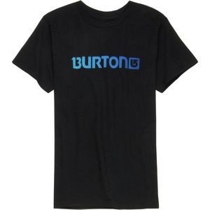 Burton Logo Horizontal T-Shirt - Short-Sleeve - Boys'