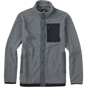 Burton Hearth Snap-Up Fleece Jacket - Men's
