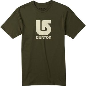 Burton Logo Vertical Slim Short-Sleeve T-Shirt  - Men's