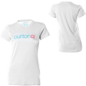 Burton Her Logo T-Shirt - Short-Sleeve - Womens