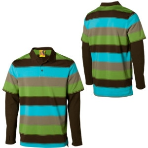 Burton Waffle Polo Shirt - Long-Sleeve - Mens