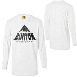 Burton Mountain Tech Tall T-Shirt  -Long-Sleeve - Mens