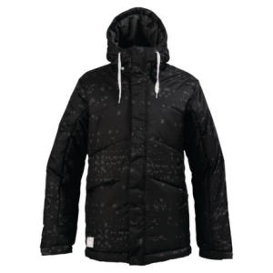 Burton White Collection Puffy Insulated Jacket - Mens