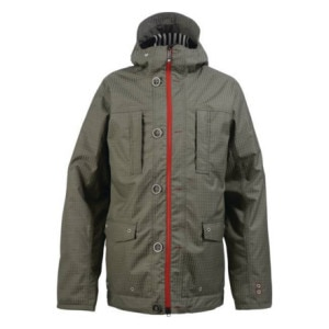 Burton White Collection Signature Trench Jacket - Mens