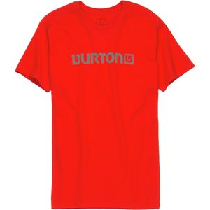 Burton Logo Horizontal T-Shirt - Short-Sleeve - Men's