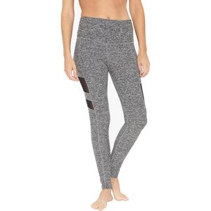 Beyond Yoga Spacedye High Waist Striped Mesh Long Leggings - Women's