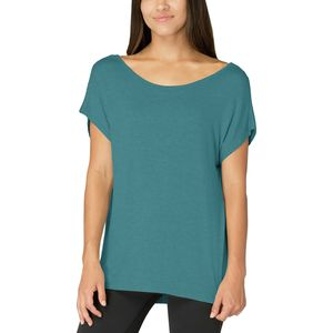 Beyond Yoga Slinky Back Flare Short-Sleeve Shirt  - Women's