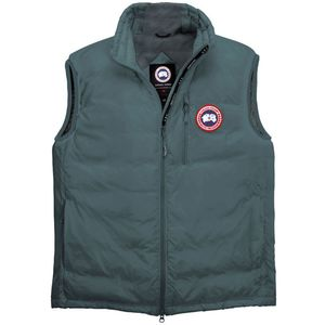 Canada Goose' Lodge Down Hooded Jacket - Men's Military Green/Slate, L