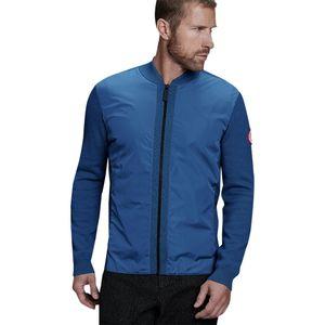캐나다 구스 Canada Goose WindBridge Full-Zip Sweater - Mens,Pacific Blue