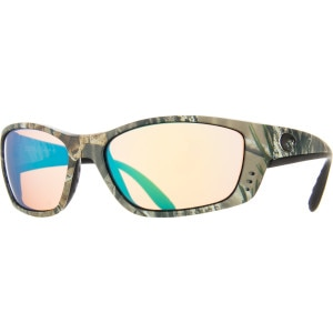 Costa Fisch Realtree Camo Polarized Sunglasses - 400 Glass Lens