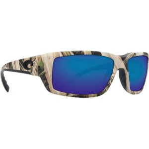 Costa Fantail Mossy Oak Camo Polarized Sunglasses - Costa Glass Lens