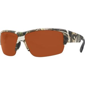Costa Hatch Mossy Oak Camo Polarized Sunglasses - Cost 580 Polycarbonate Lens