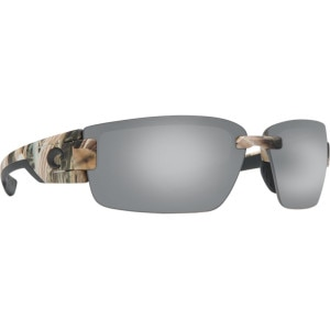 Costa Rockport Mossy Oak Camo Polarized Sunglasses - Costa 580 Polycarbonate Lens