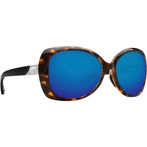 Costa Sea Fan 580P Mirrored Sunglasses - Polarized - Women's
