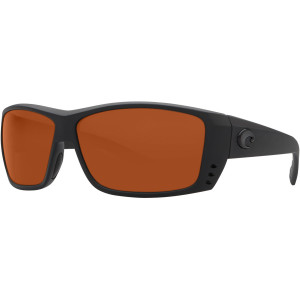 Costa Cat Cay Blackout Polarized Sunglasses - Costa 580 Polycarbonate Lens