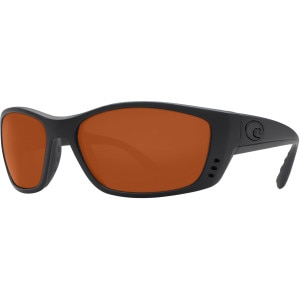 Costa Fisch Blackout Polarized Sunglasses - Costa 580 Polycarbonate Lens