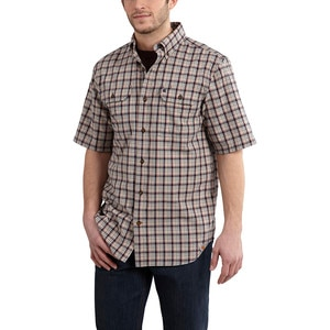 Carhartt Fort Plaid Shirt - Short-Sleeve - Men's