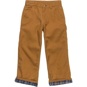 Carhartt Washed Canvas Flannel-Lined Dungaree Pant - Boys'