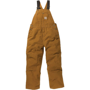 Carhartt Washed Duck Bib Overall - Boys'