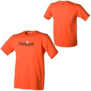 Carhartt Logo T-Shirt - Short-Sleeve - Boys