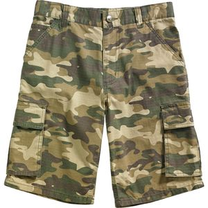 Carhartt Brown Camo Cargo Short - Little Boys'