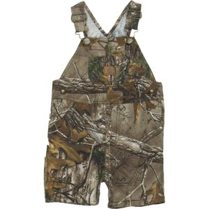 Carhartt Washed Work Camo Bib Shortall - Infant Boys'