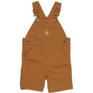 Carhartt Washed Canvas Bib Shortall - Toddler Boys'